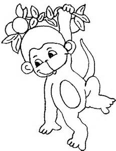 coloring 187 blog archive 187 monkey coloring pages kids
