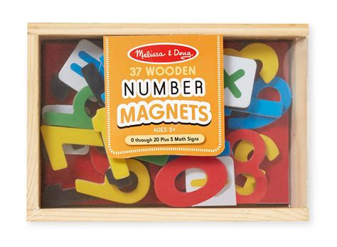amazon com melissa doug deluxe magnetic letters and