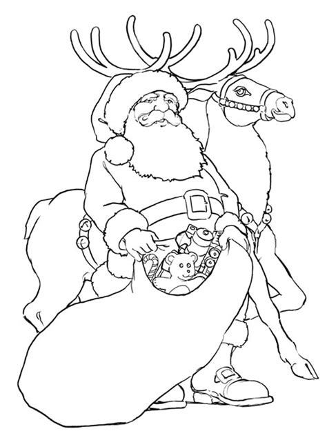rudolph color pages coloring home