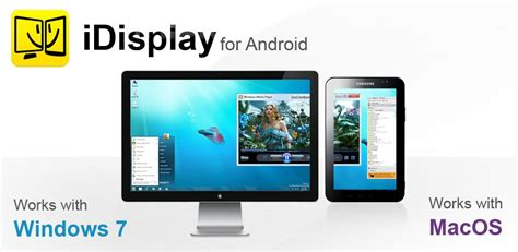 use android tablet as monitor idisplay app converts your tablet into a pc monitor tablet news net