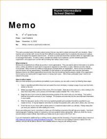 Business Letter Memo Format professional memo template rejection letters
