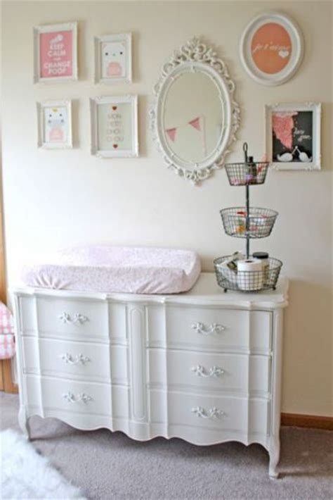 shabby chic changing table 6 shabby chic nursery d 233 cor tips and 24 ideas shelterness
