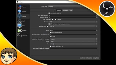 best recording obs studio tutorial best recording settings obs