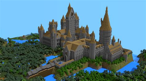 House Blueprint Maker my interpretation of hogwarts built out of over 700 000