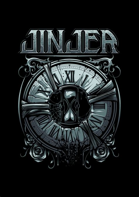 jinjer international merch store jinjer captain clock