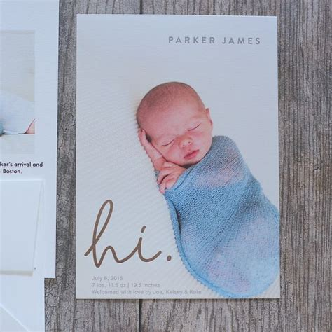 baby birth announcements boys and births on