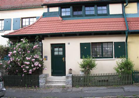 veranda reihenhaus gartenstadt hellerau reihenhaus absatz zwei hauszug 228 nge