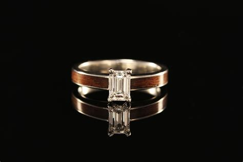 Unique Wooden Wedding Bands for Women   Engagement Rings