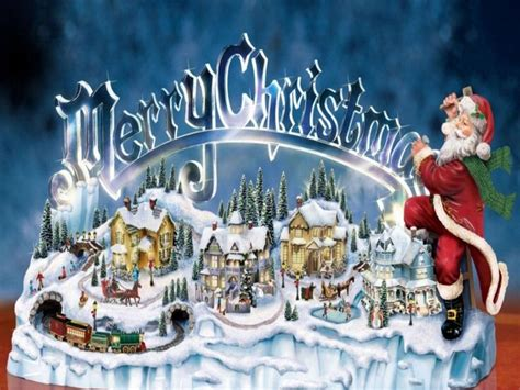 thomas kinkade christmas  thomas kinkade christmas screensavers  wallpapers merry
