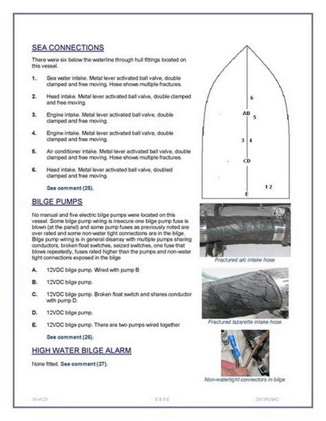marine survey template 28 images internachi inspection