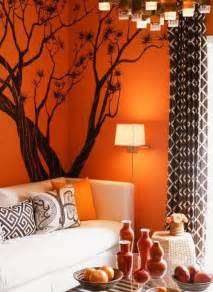 Orange Living Room Decor Decorating A Living Room In Orange Wall Room Decorating Ideas Home Decorating Ideas