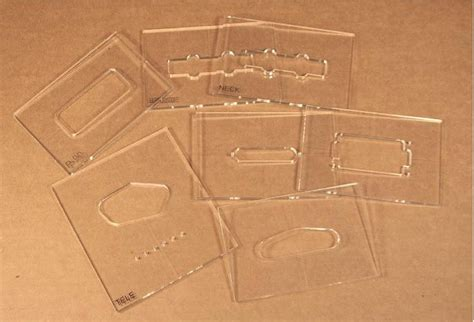 guitar routing templates guitar parts center cavity routing templates