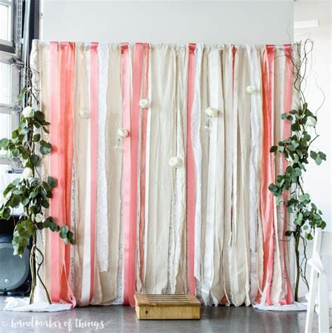Wedding Lace Backdrop by Lace And Ribbon Wedding Backdrop Lace Backdrops And Diy