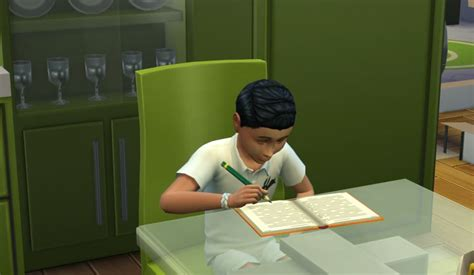 Children Homework Sims 3 by The Sims 4 Children And School Guide