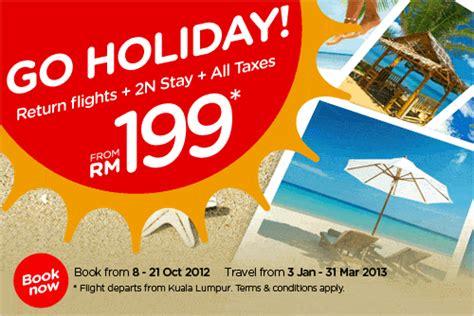 airasia holidays airasia go holiday promotion