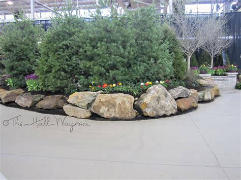 landscaping with boulders indy garden show the way