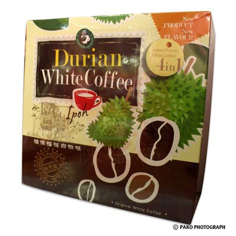 Durian White Coffee Ipoh 4in1 ipoh durian white coffee hock product centre