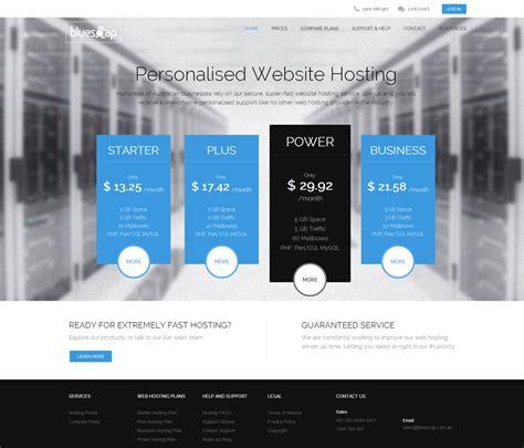 best hosting technology website design electronics website design