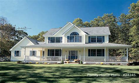 Houses Plans With Wrap Around Porches by Country House Plans With Wrap Around Porches Southern