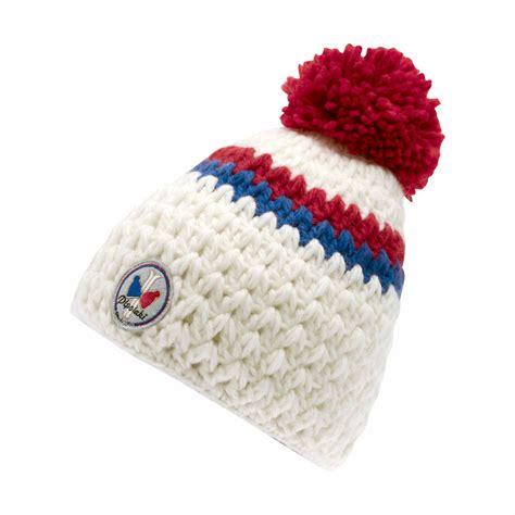 bonnets de bonnet pompon blanc anchorage bonnet ski pipolaki