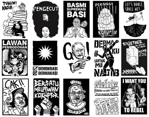 design poster malaysia malaysia s design rebels join forces on political posters