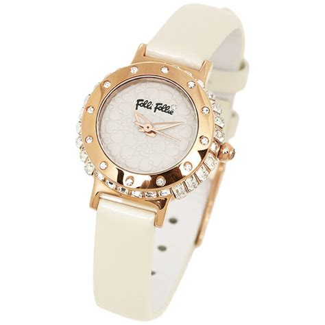 Follie Follie White Gold 03513 brand shop axes rakuten global market folli follie