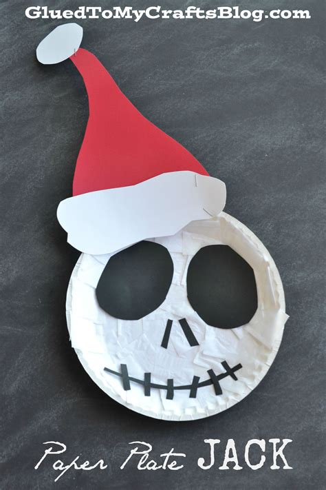 the nightmare before christmas paper plate jack kid