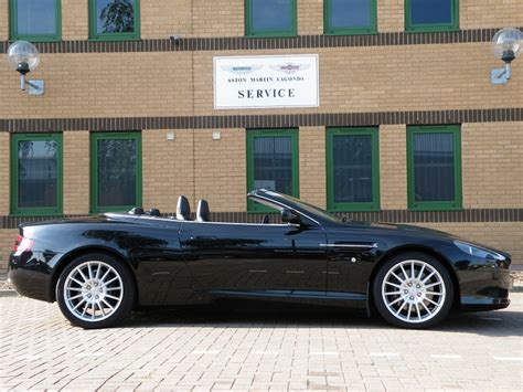 Aston Martin Db9 Convertible For Sale by Db9 Volante Convertible Touchtronic Black