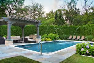 Backyard Landscaping With Pool Backyard Landscaping Ideas Landscape Traditional With Arborvitae Pool Ideas