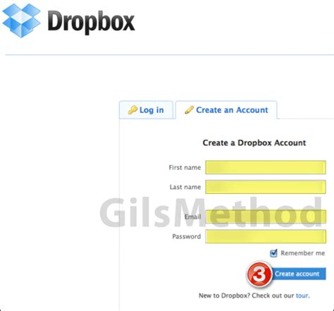 dropbox new account how to open a free dropbox account