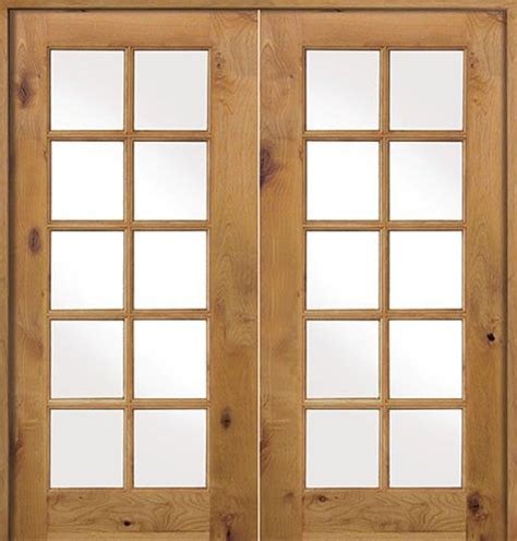 Prehung Interior Doors Cheap Interior 10 Lite Knotty Alder Prehung Wood Door Unit Discount Interior Doors