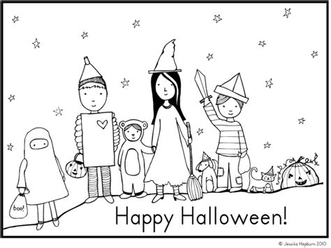 printable happy halloween coloring pages printable city