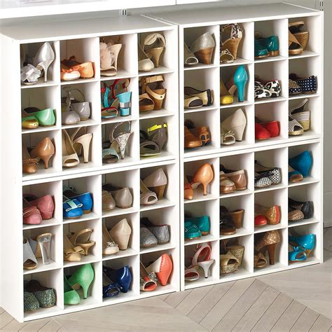 storage shoe 12 pair shoe organizer the container store