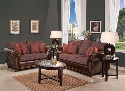 chenille and leather sectional sofa traditional chenille fabric leather sofa couch loveseat