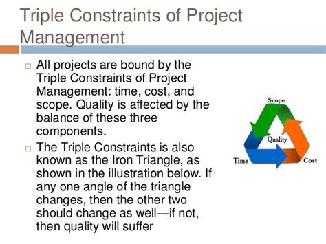 the triple constraint adalta development