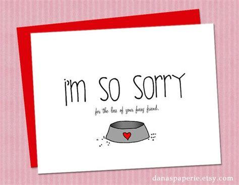pet sympathy card loss of pet card pet card by
