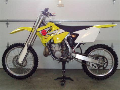 2003 Suzuki Rm250 For Sale Suzuki Rm250 For Sale Canada