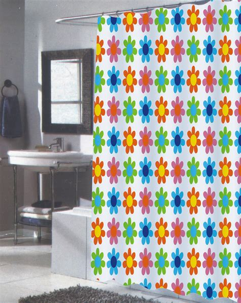 Shower Curtain 84 Length by Carnation Home Fashions Inc Fabric Shower