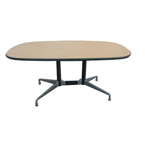 5 1 2 ft herman miller eames racetrack dining table ebay