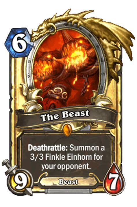 Hearthstone Beast Deck by The Beast Hearthstone Heroes Of Warcraft Wiki