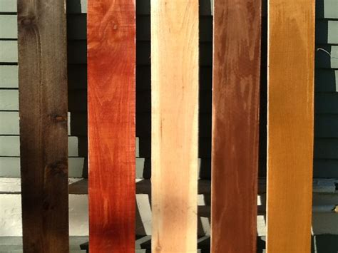 cedar stain colors stained cedar planks zf14 roccommunity