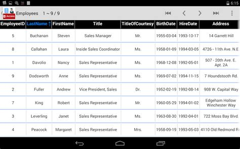 microsoft access for android accdb mdb database manager viewer for ms access