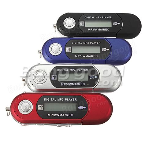 Mini Mp3 Car 8g usb flash drive memory stick lcd mini mp3 player with fm radio car gift us 9 88