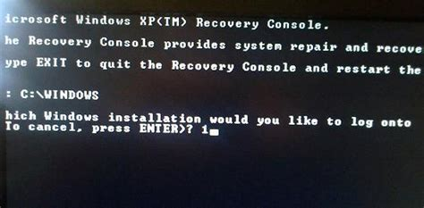 microsoft windows recovery console how to repair windows xp using recovery console