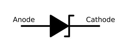 led cathode wiki diode symbol clipart best