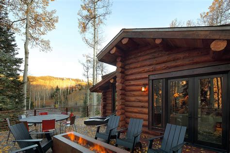 Cabins In Telluride by Log Cabins Interiors Outdoor
