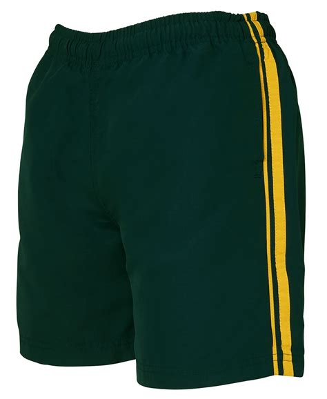 earned your stripes dual stripe warm up shorts