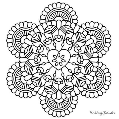 intricate mandala coloring pages free 113 best images about mandalas on coloring for