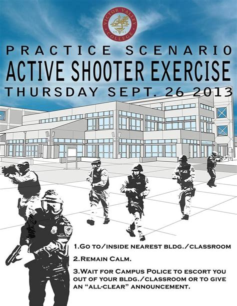 Vvc Active Shooter Drill Victor Valley News Vvng Com Active Shooter Drill Template