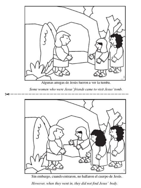 imagenes de jesus resucitado para colorear ha resucitado libro para colorear